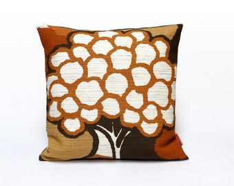 Green Mid Century Modern Retro Pillow Cover Cushion by EllaOsix