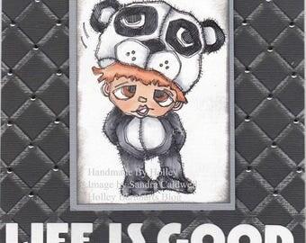 1436 Panda PJ Digi Stamp