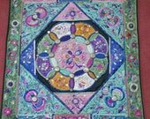 Textiles -  Hmong Fabric / Hmong panel /  Miao fabric - 7014