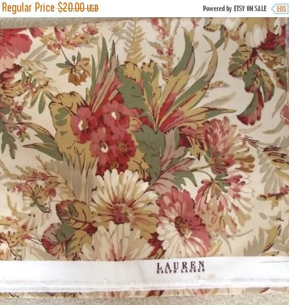 On Sale Vintage Ralph Lauren Fabric Home Decor By Gypsythatiwas