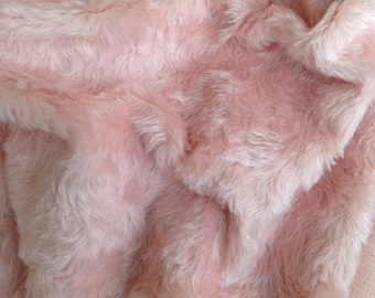 ANALISE - Pink Mohair Fur - Fat 1/8m piece - 18mm pile