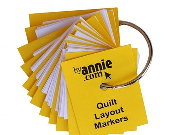 Quilt Layout Markers by Annie's Fabric Quilt Quilting PBASUP157