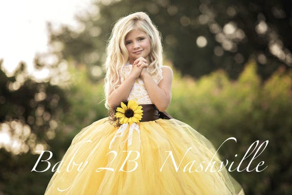 Sunflower Dress Custom Listing for Amber for 2 dresses shipping to Canada with Charcoal Sash