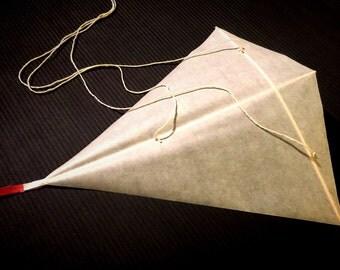 Hand made paper kite