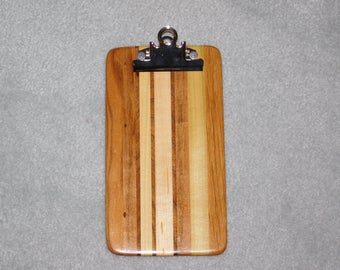 "Small / Memo Sized Hardwood Clipboard (9"" x 5"")"