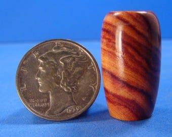 "1"" Scale Tulipwood Vase - IGMA Fellow Helmer Lathe Turned Dollhouse Miniature"