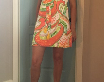 MOD 60's Skort-Dress Size Small