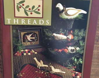 Needl' Love Quilting and Wool Project Book Wintergreen Threads