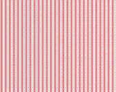 ON SALE Nadra Ridgeway Backyard Roses Stripe Pink