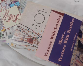 4 books for working with textiles