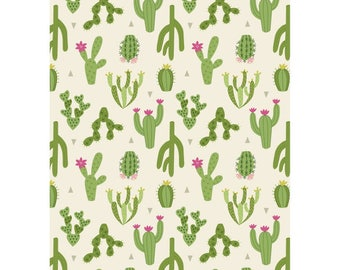 Green Cactus by Lewis & Irene