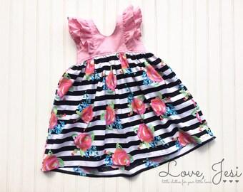 Toddler Girl Dress, Girls Spring Dress, Baby Girls Dress, Little Girls Dress, Girls Summer Dress, Baby Summer Dress, Toddler Summer Dresses
