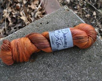 Silken Sock - The Floor is Lava Colorway