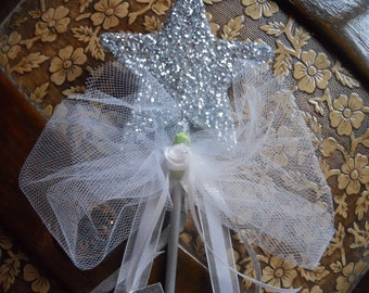 Will You Be My Fairy Godmother White Wand