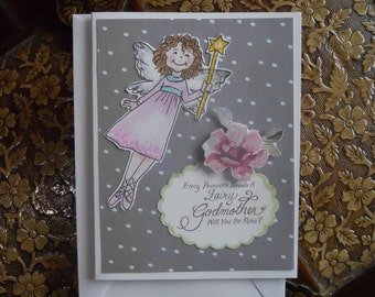 Godmother Question Card - Every Princess Needs a Fairy Godmother