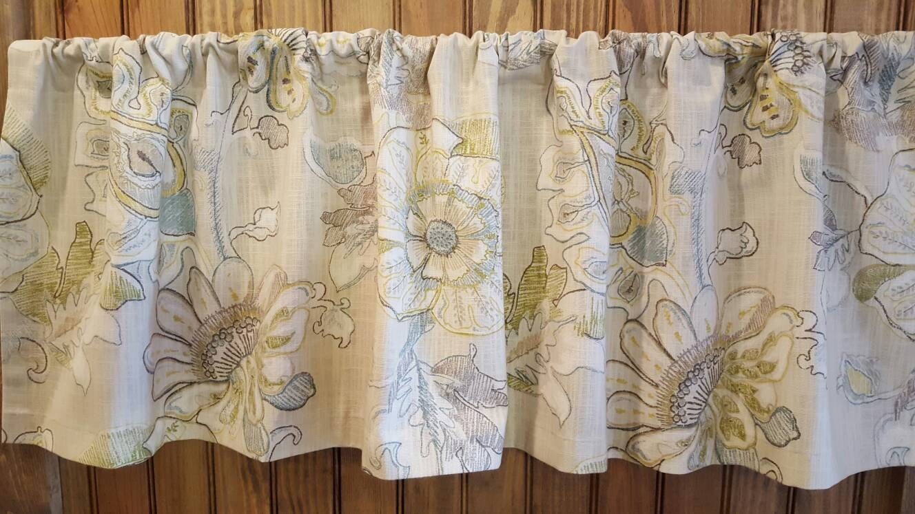 Turquoise Valance Etsy - Chocolate coral and gold shower curtain