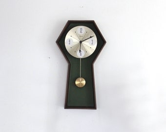 Midcentury Wall Clock