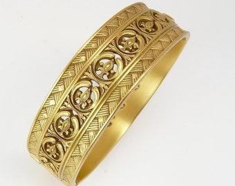 Vintage Bangle Bracelet Bronze Finish NGA National Gallery Of Art