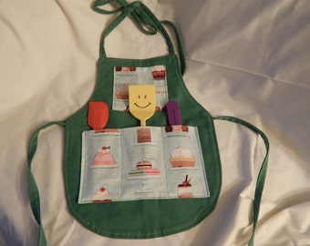 Children's cooking apron