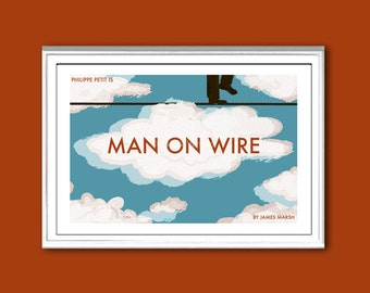 Man on Wire movie poster in various sizes