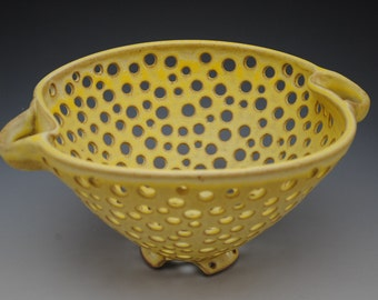 Ceramic Colander, Fruit Bowl