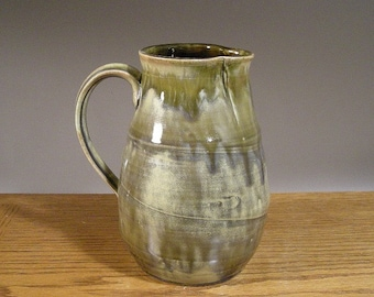 Handmade Stoneware Serving Pitcher by Jon Whitney Pottery , Makes a great table centerpiece.