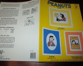 Cross Stitch Charts Peaunts Lucy JCA 84031 Counted Cross Stitch Leaflet Snoopy Charlie Brown