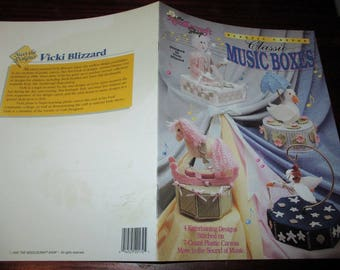 Music Box Plastic Canvas Patterns Classic Music Boxes Needlecraft Shop 923331 Plastic Canvas Pattern Leaflet Hofe