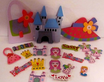 Diva, Fairy and Princess Wooden Cut-Outs