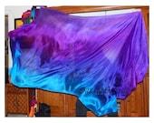 "Sahariah's Silk Belly Dance Veil Rectangle original ""Killer Silk"" LESS than 3 Yards 104 INCHES Tribal Rectangle Veil  Silks by Sahariah"