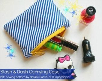 Easy Wallet sewing pattern PDF Download Stash & Dash  Cash wallet