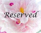 Reserved Listing for JR