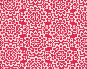 Free Spirit Fabrics Amy Butler True Colors Wallflower in Poppy - Half Yard