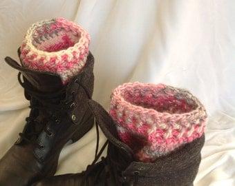 SALE - Femmeish Ribbed Edge Boot Cuffs