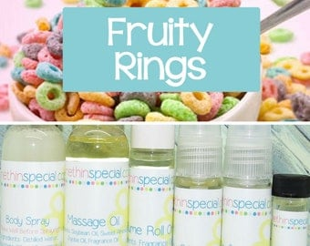 Fruity Rings Perfume, Perfume Spray, Body Spray, Perfume Roll On, Perfume Sample Oil, Dry Oil Spray, Fruit Loops, You Choose the Product