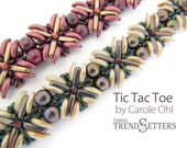 Tic Tac Toe: Beadweaving Tutorial by Carole Ohl