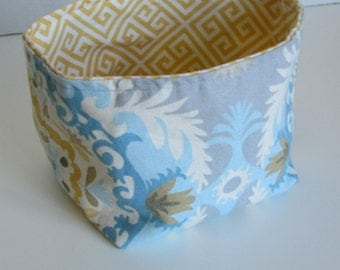 Fabric Storage Bin, Medium Bucket home storage kids room storage