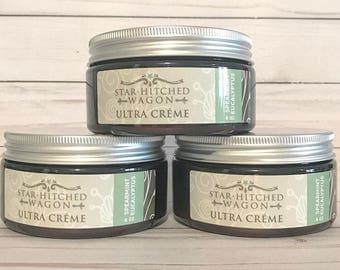 Handmade Natural Spearmint Eucalyptus Ultra Creme 8 Ounces loaded with Jojoba Oil