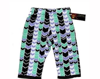 On SALE 40% OFF ON Sale Chevron Pants - Girl Pants  -  Boy Pants - Girl - Baby Clothes - Baby Pants - Black Pants - 6m - 12m - 18m