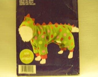 Uncut Simplicity Pattern 1990 Dog Dinosaur Costume
