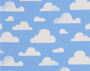 205345 blue cloud fabric by Michael Miller USA