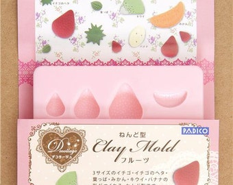 168478 mold for clay fruit from Japan