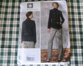 Vogue Patterns American Designer Ann Klein V1467 Uncut Size 14 -22
