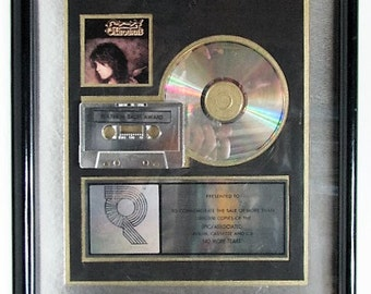 Ozzy Osbourne Platinum Record Sales Award RIAA No More Tears  Certified Music Industry Award Black Sabbath