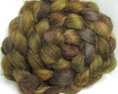 BFL/Tussah/Firestar 50/25/25 Roving Combed Top - 5oz - Tanglewood 2