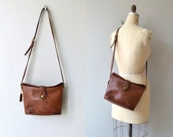 Coach leather binocular bag | vintage Coach bag | brown leather Coach purse
