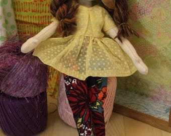 Handmade Art Doll collectible OOAK - Lilli