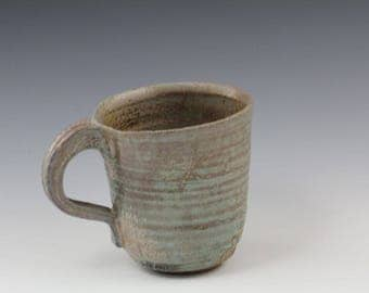 Handmade Ceramic Mug Woodfired