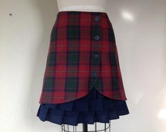 SALE Yvette ruffle front skirt Sz 10