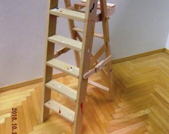 Miniature Folding Step Ladder